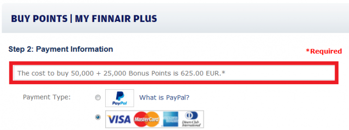 Finnair Plus Purchase Points September 2015 Campaign Price