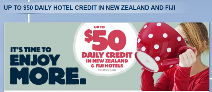 Le Club Accorhotels New Zealand & Fiji Up To $50 Daily Credit