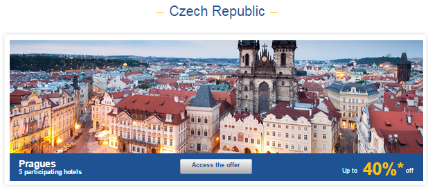 Le Club Accorhotels Weekly Private Sales Czech 1
