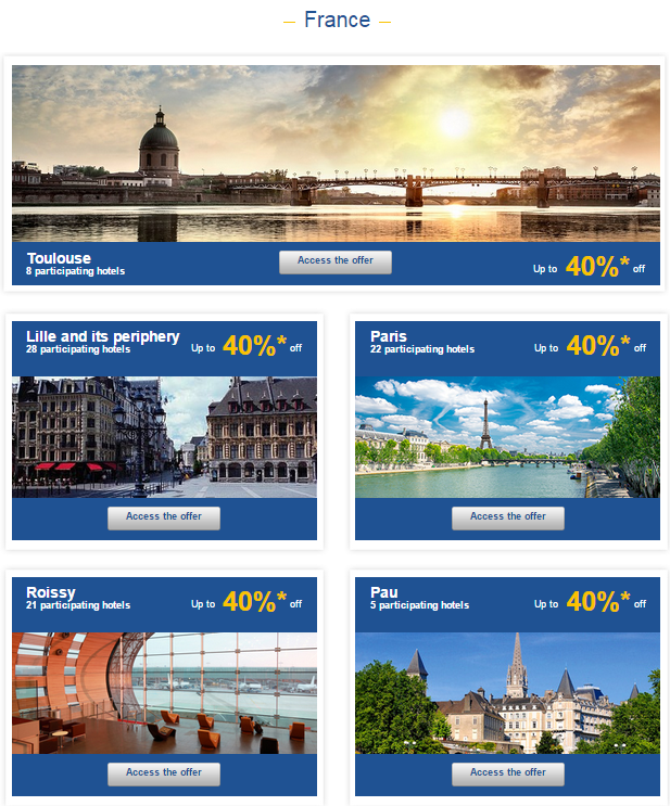 Le Club Accorhotels Weekly Private Sales Sep 9 France 1