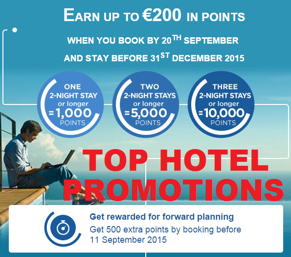 Top Hotel Promotions September 2015