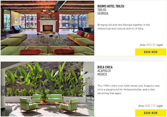 Design Hotels 40 Percent Off Sale Hotels 7