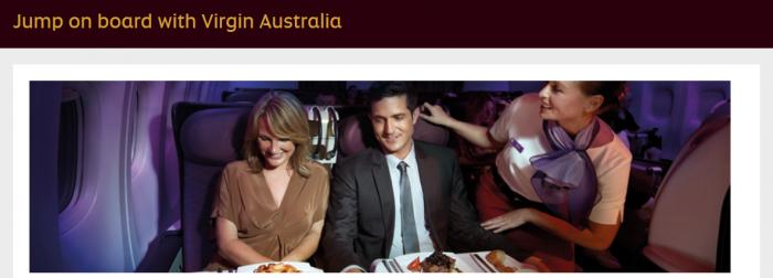 Etihad Airways Virgin Australia Up To Triple Guest Miles