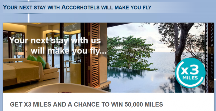 Le Club AccorHotels Etihad Airways Etihad Guest Triple Miles October 15 - December 31 2015