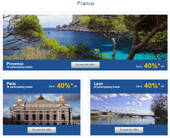 Le Club AccorHotels Weekly Sales Oct 21 France 1
