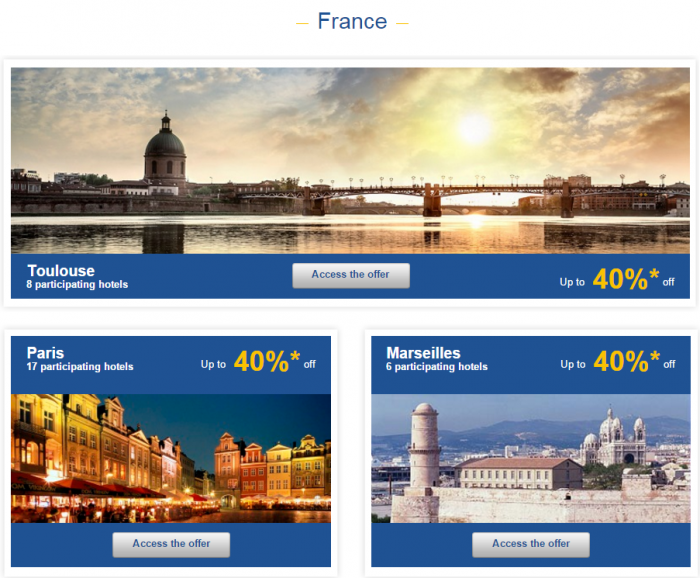 Le Club AccorHotels Weekly Sales Oct 27 France 1