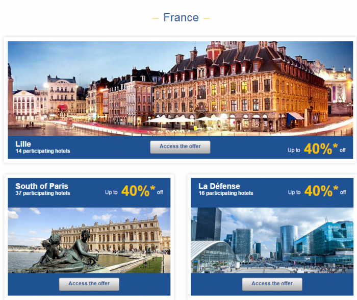Le Club Accorhotels Weekly Private Sales Oct 1 France 1