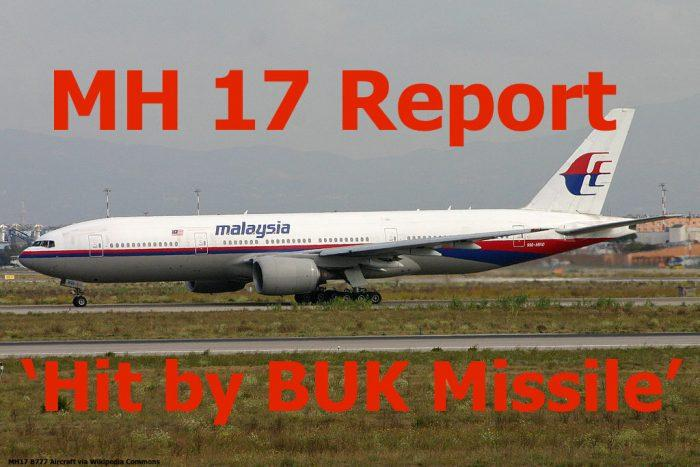 MH 17 B777