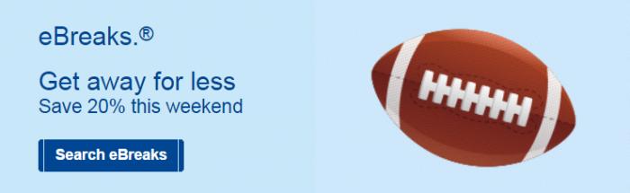 Marriott eBreaks October 15 - 18 2015