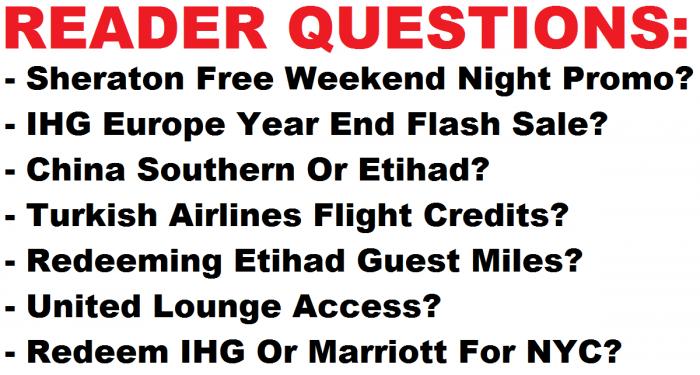 Reader Questions October 25 2015