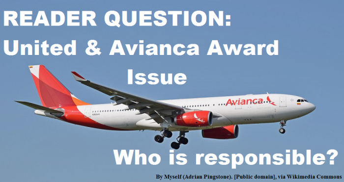 Avianca United Award Issue
