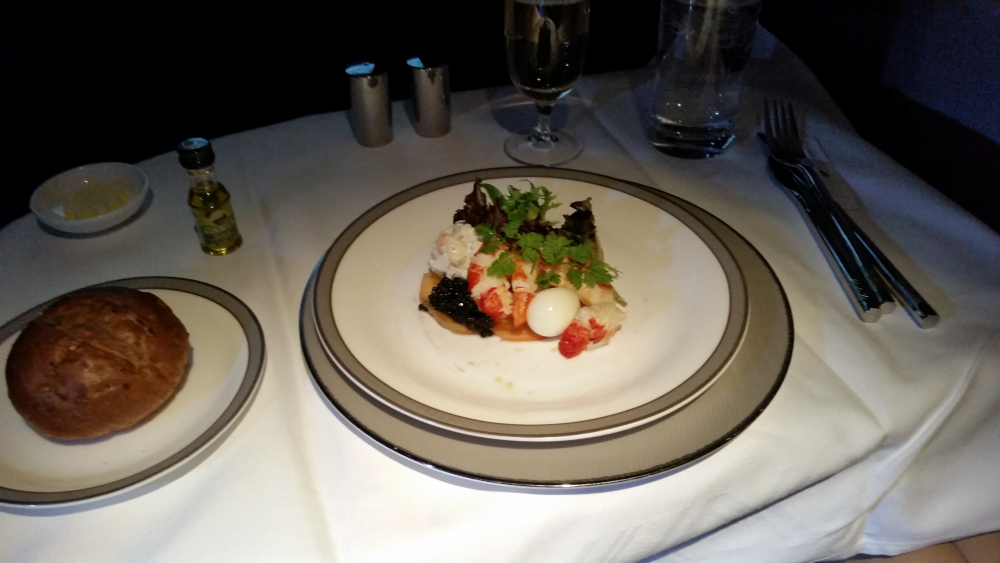 Fabulous Fridays Lobster Feast On Singapore Airlines SIN-BCN A
