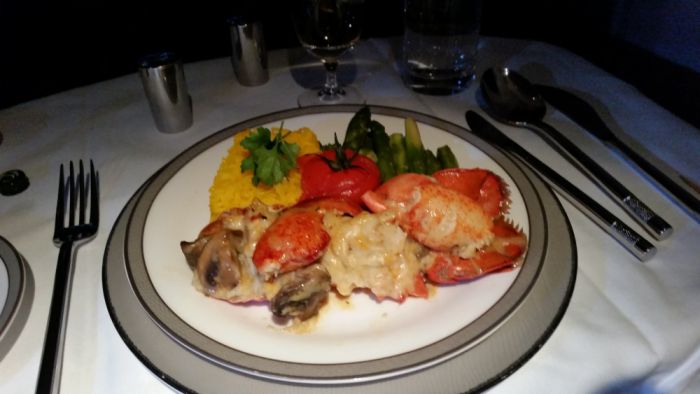 Fabulous Fridays Lobster Feast On Singapore Airlines SIN-BCN M