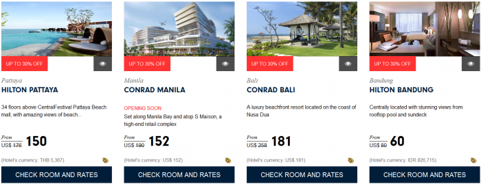 Hilton HHonors Southeast Asia Sale Up To 30 Percent Off Book By December 31 2015 4