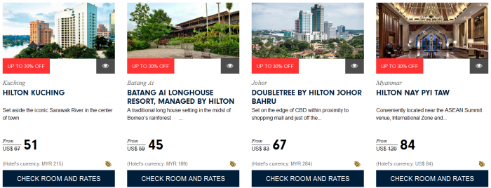 Hilton HHonors Southeast Asia Sale Up To 30 Percent Off Book By December 31 2015 6