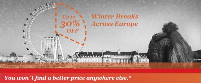 IHG Rewards Club Europe Winter Sale December 1 - February 29 2016