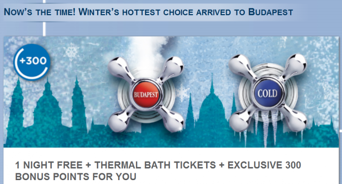 Le Club AccorHotels Budapest Winter Offer November 1 – April