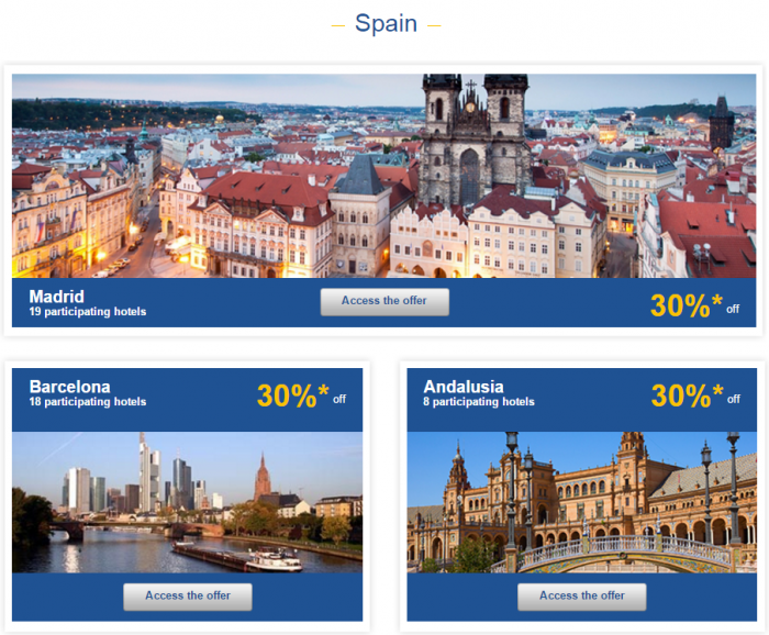 Le Club AccorHotels Europe Private Sales Nov 3 Spain 1