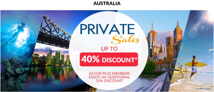 Le Club AccorHotels November 2015 Private Sales Australia