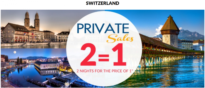 Le Club AccorHotels November 2015 Private Sales Switzerland