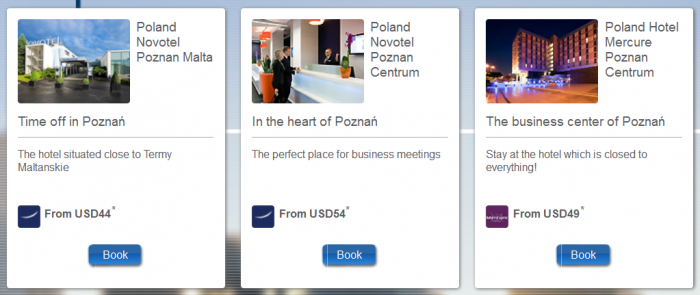 Le Club AccorHotels Poznan Triple Points Offer November 1 - December 31 2015 Hotels
