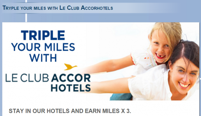 Le Club AccorHotels TAP Triple Miles October 27 - January 31 2016