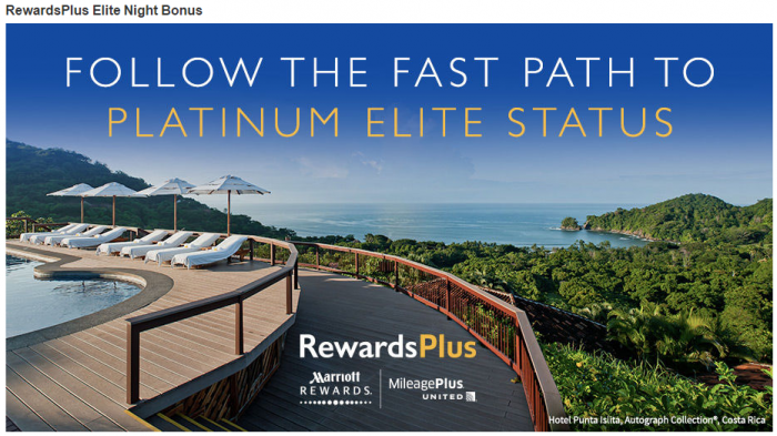 Marriott RewardsPlus Double Elite Night Credit