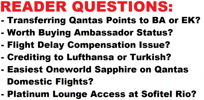 Reader Questions November 14