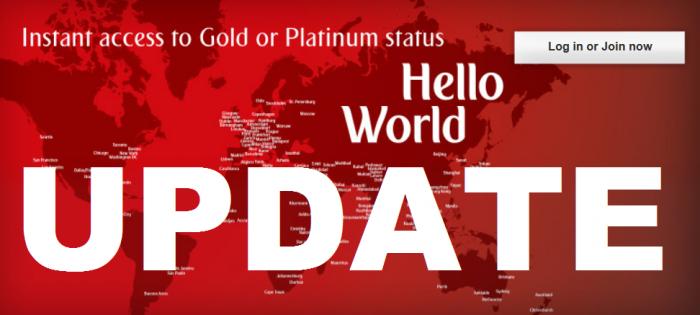 UPDATE Emirates Skywards Gold & Platinum Status Match