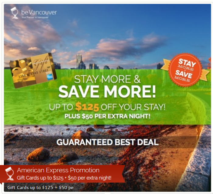 Bevancouver Promotion For Up To 125 Off 50 Off Each Additional