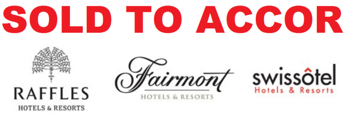 FHRI Fairmont Swissotel Raffles Sold To Accor