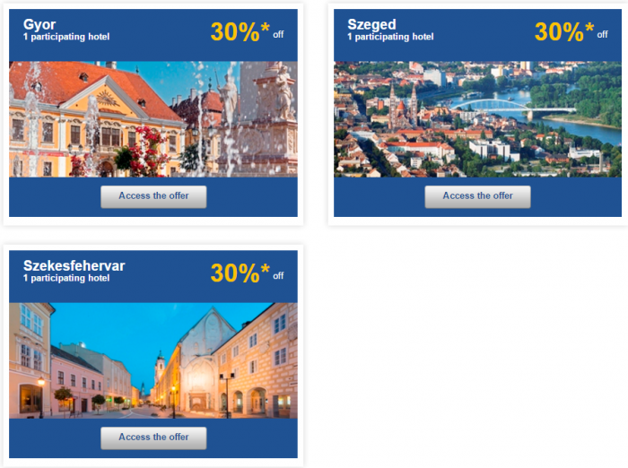Le Club AccorHotels Europe Private Sales December 10 Hungary 2