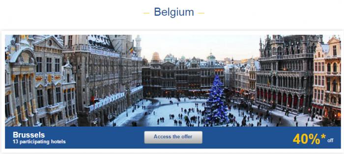Le Club AccorHotels Europe Private Sales December 15 Belgium 1