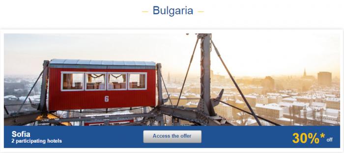 Le Club AccorHotels Europe Private Sales December 15 Bulgaria 1