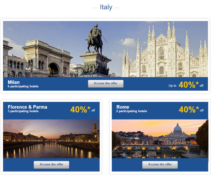 Le Club AccorHotels Europe Private Sales December 2 2015 Italy 1