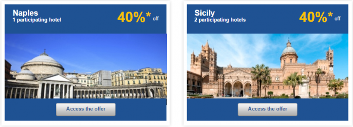 Le Club AccorHotels Europe Private Sales December 2 2015 Italy 2