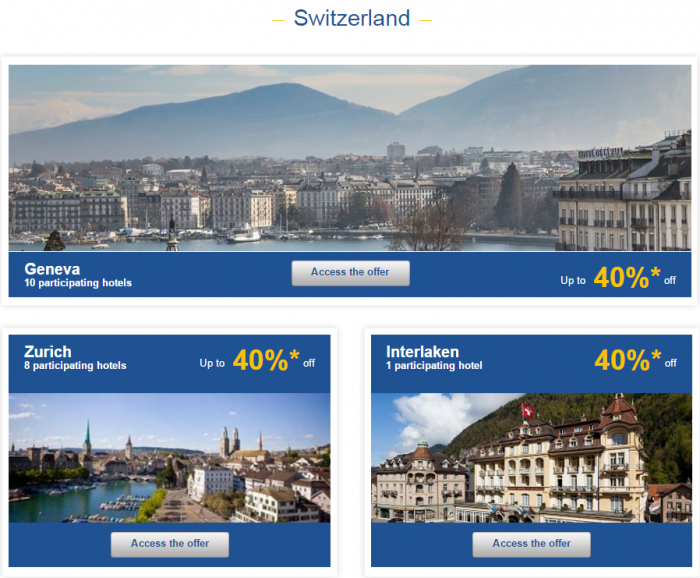 Le Club AccorHotels Europe Private Sales December 2 2015 Switzerland 1