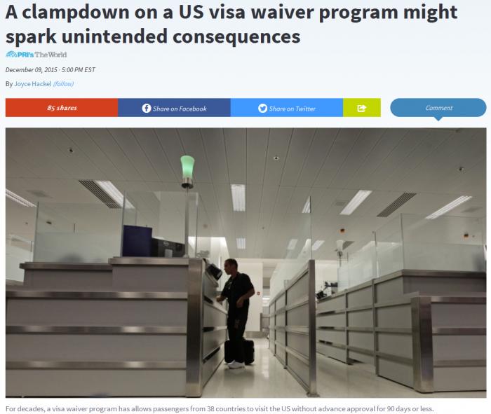US Visa Waiver
