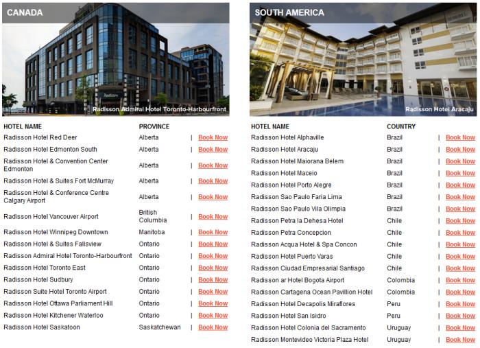 Club Carlson Mega Points December 31 2016 Properties 3