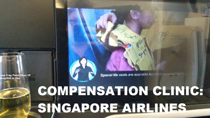 Compensation Clinic Singapore Airlines