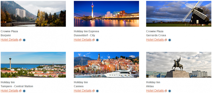 IHG Rewards Club New Hotels Offers Europe January 2016 2