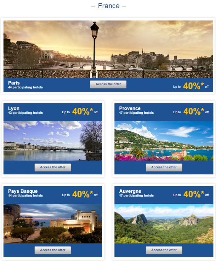 Le Club AccorHotels Europe Private Sales January 19 - 25 2016 2
