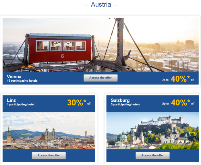 Le Club AccorHotels Europe Private Sales January 26 - February 1 2016 Austria 1