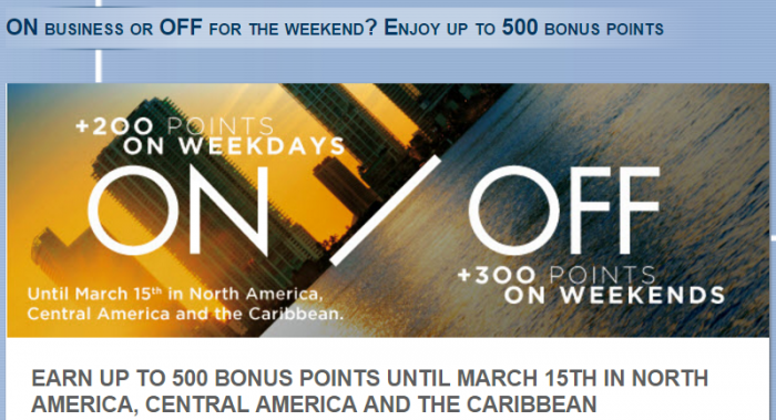 Le Club AccorHotels North Central America Caribbean 300 500 January 15 March 15 2016