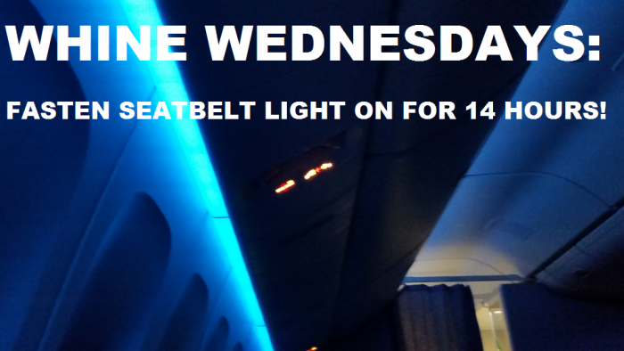 Whine Wednesdays Faster Seatbelt