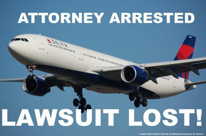 Delta Arrest Lawsuit