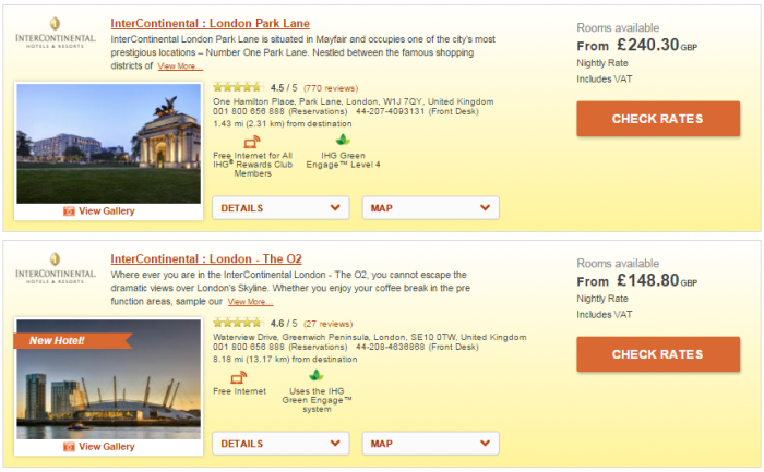 IHG Rewards Club Europe MasterCard Partner Rate 20 Percent Off