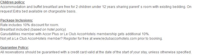 Le Club AccorHotels Garuda Indonesia 19 Percent Off Sale December 31 2016 TCs 2