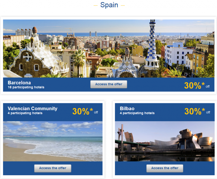 Le Club AccorHotels Weekly Up To 50 Percent Off Europe Private Sales February 1 - 7 Spain