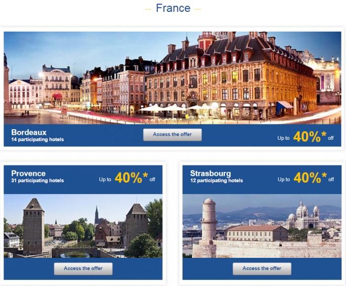 Le Club AccorHotels Weekly Up To 50 Percent Off Europe Private Sales February 15 - 22 France 1
